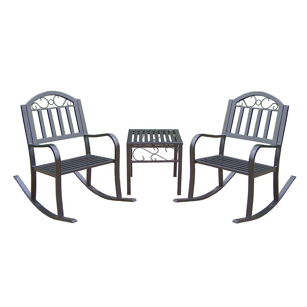 Rochester Rocking Chair 3-piece Set