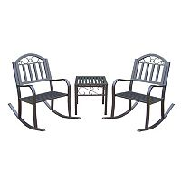 Rochester Rocking Chair 3-piece Set