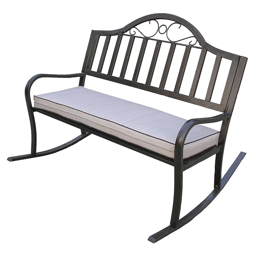 Rochester Padded Rocking Bench