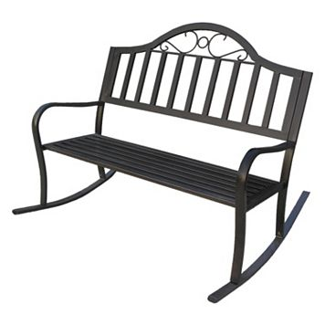 Rochester Outdoor Rocking Bench