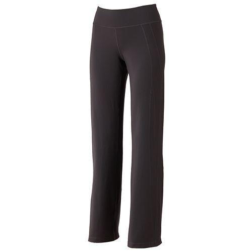 74dc3b285a1cf Women s Tek Gear® Core Essentials Shapewear Fit   Flare Solid Yoga Pants