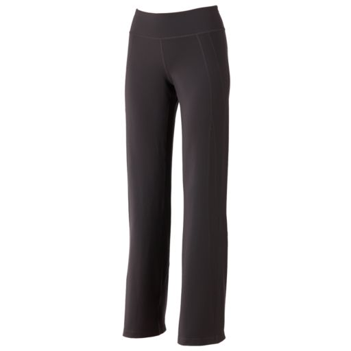 Women's Tek Gear® Core Essentials Shapewear Fit & Flare Solid Yoga Pants