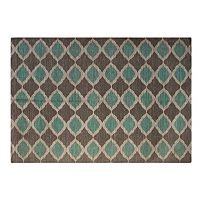 Chesapeake Matrix Lattice Flatweave Rug - 5' x 7'