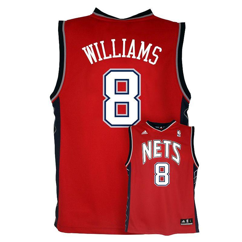 adidas New Jersey Nets Deron Williams NBA Jersey - Boys 8-20