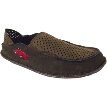 Men's Arkansas Razorbacks Cayman Perforated Moccasin