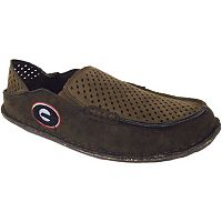 Men's Georgia Bulldogs Cayman Perforated Moccasin