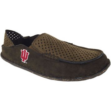 Men's Indiana Hoosiers Cayman Perforated Moccasin