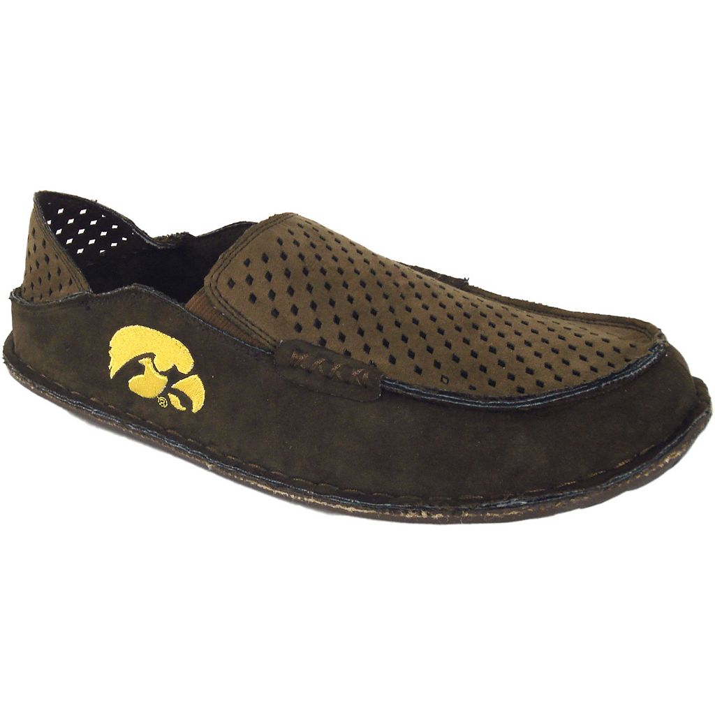 Men's Iowa Hawkeyes Cayman Perforated Moccasin