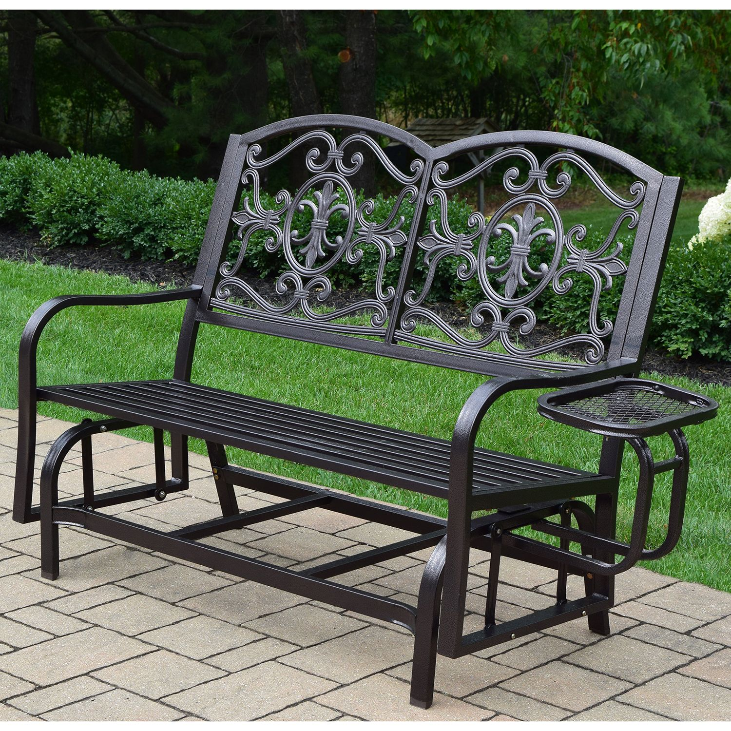 Patio Metal Benches Chairs Furniture