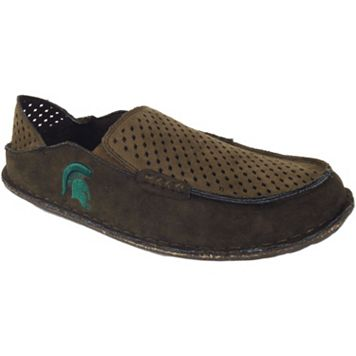 Men's Michigan State Spartans Cayman Perforated Moccasin