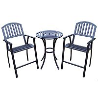 Rochester Outdoor Bar 3-piece Set