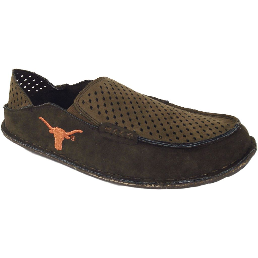 Men's Texas Longhorns Cayman Perforated Moccasin