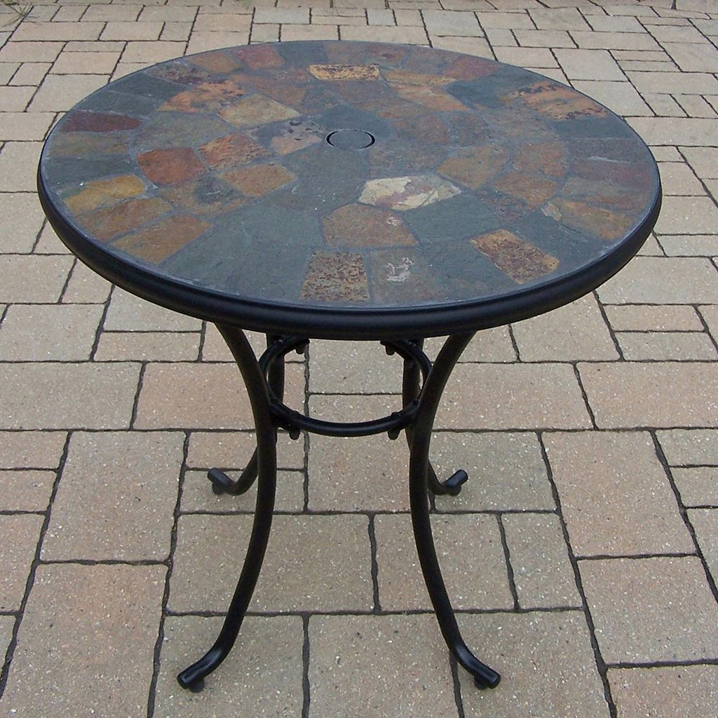 Rochester Stone Art Bistro Table