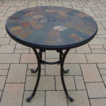 Rochester Stone Art Bistro Table