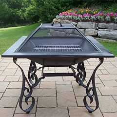 Victoria 33-inch Cast Iron Fire Pit