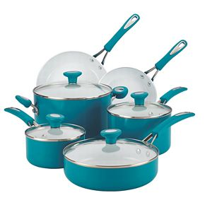SilverStone 12-pc. Ceramic Nonstick Cookware Set
