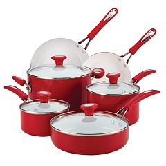 SilverStone 12-pc. Ceramic Nonstick Cookware Set