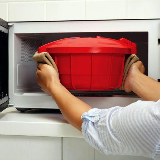 SilverStone 3.4-qt. Microwave Pressure Cooker