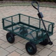 Metal Utility Garden Cart