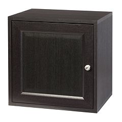 Creative Ware Home Storage Cube with Solid Door & Adjustable Shelf