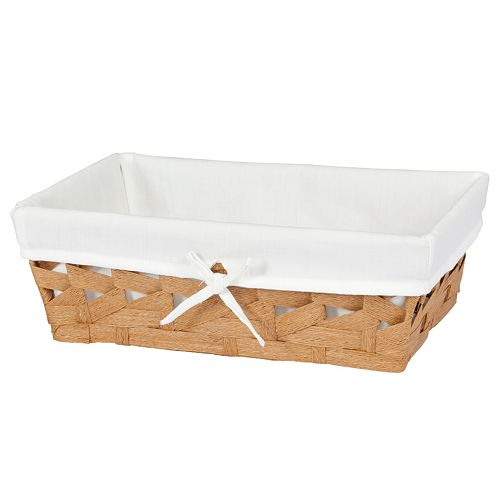 Creative Ware Home Crossways Vanity Basket