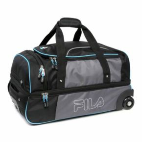 FILA® Expedition 21-Inch Wheeled Drop-Bottom Duffel Bag