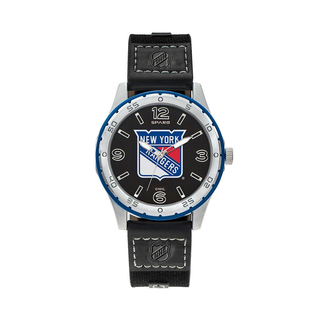 Sparo Men's Player New York Rangers Watch