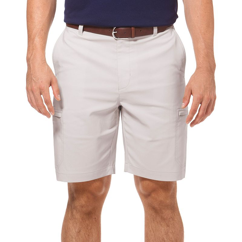 Big & Tall Chaps Stone Classic-Fit Solid Golf Cargo Shorts