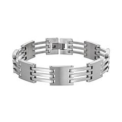 Stainless Steel Square Bracelet - Men