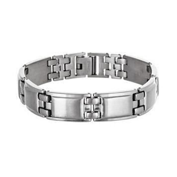 Stainless Steel Rectangle Bracelet - Men