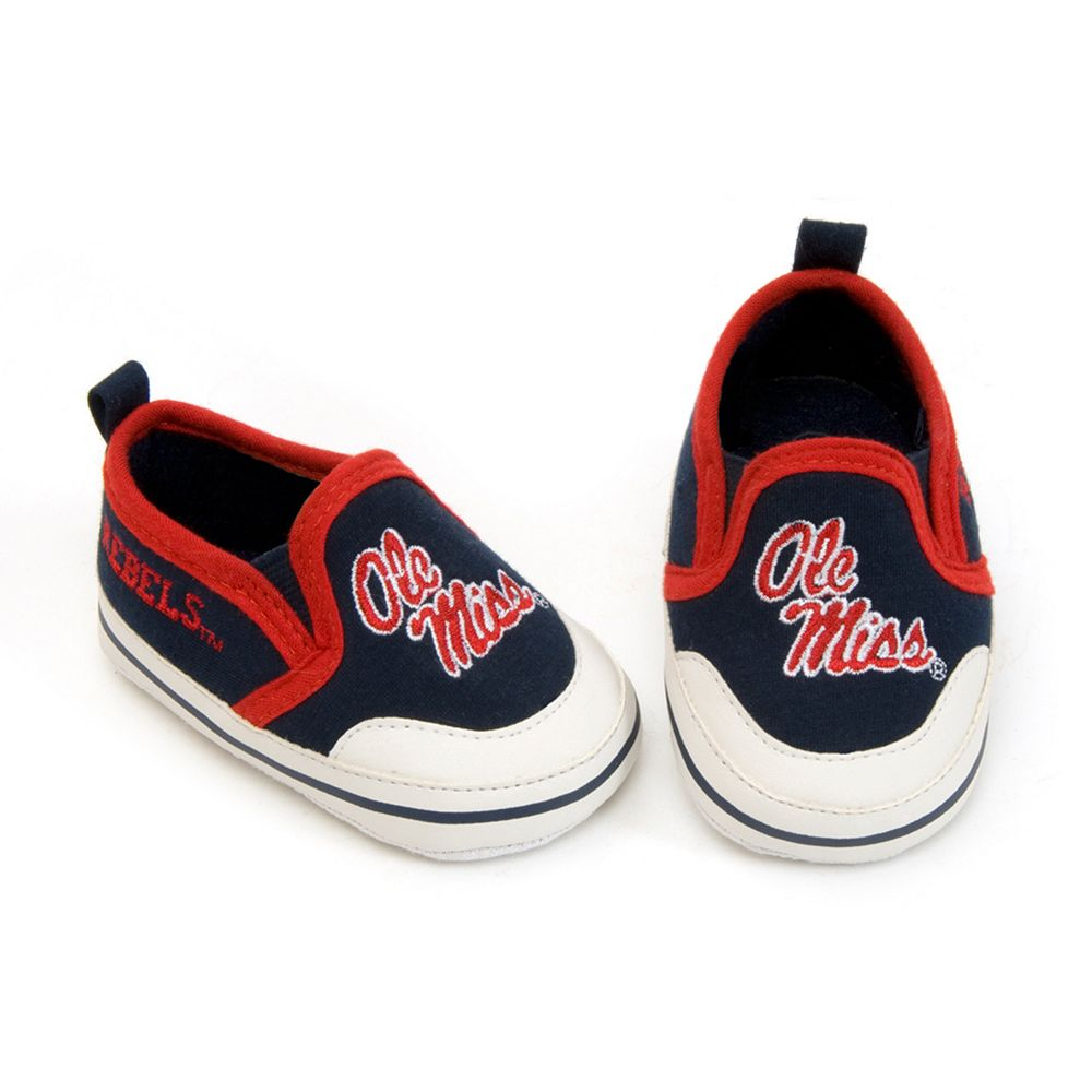 Ole Miss Rebels NCAA Crib Shoes - Baby