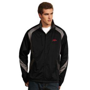 Men's Antigua Arkansas Razorbacks Tempest Desert Dry Xtra-Lite Performance Jacket