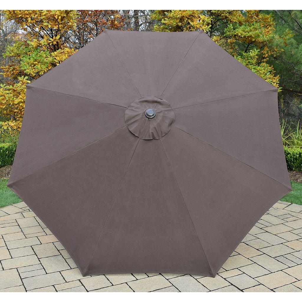 9-ft. Outdoor Tilt Umbrella & Stand