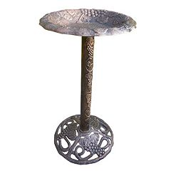 Outdoor Vineyard Bird Bath