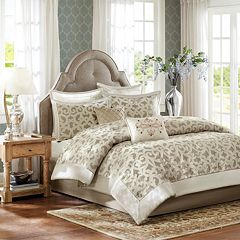 Madison Park Signature Stokes 8 pc Comforter Set