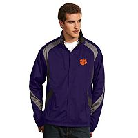 Men's Antigua Clemson Tigers Tempest Desert Dry Xtra-Lite Performance Jacket