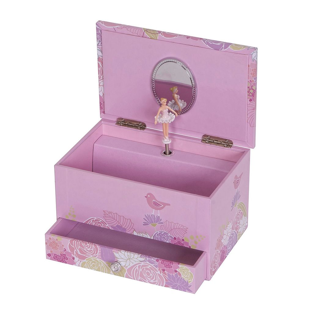 Mele Designs Bird and Blooms Musical Jewelry Box