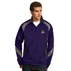 Men's Antigua East Carolina Pirates Tempest Desert Dry Xtra-Lite Performance Jacket