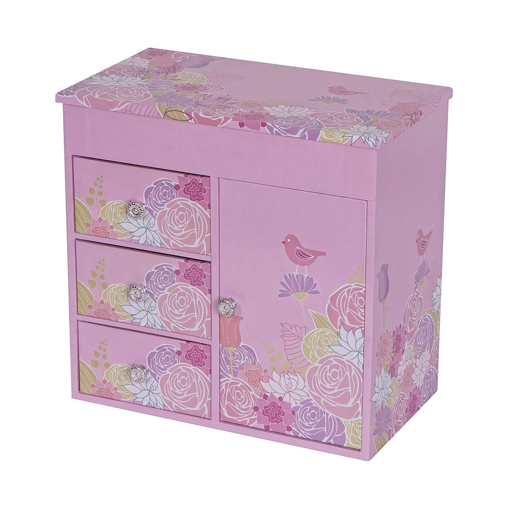 Mele Designs Bird & Blooms Musical Jewelry Box