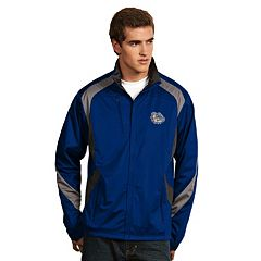 Men's Antigua Gonzaga Bulldogs Tempest Desert Dry Xtra-Lite Performance Jacket