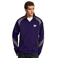 Men's Antigua Kansas State Wildcats Tempest Desert Dry Xtra-Lite Performance Jacket