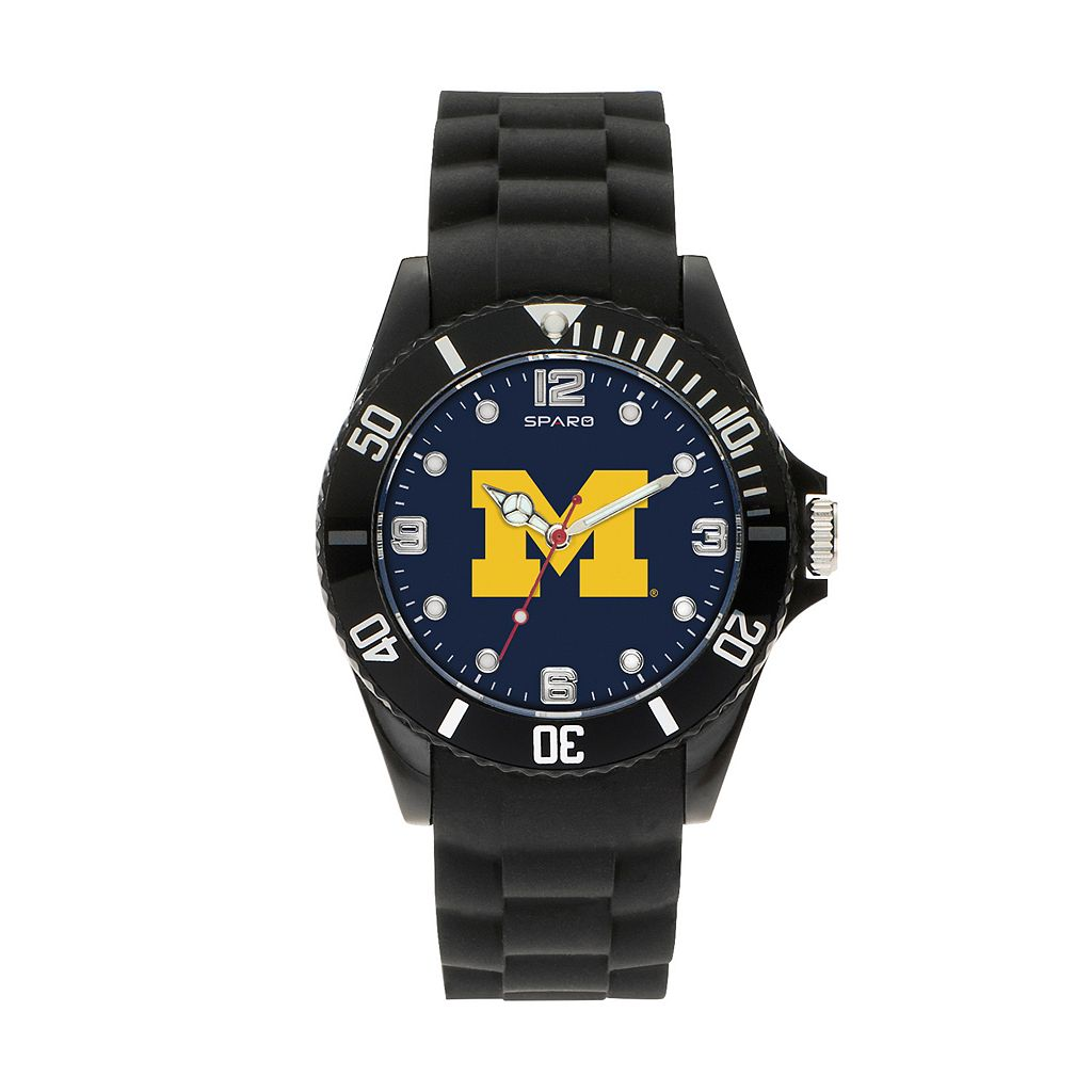 Sparo Men's Spirit Michigan Wolverines Watch