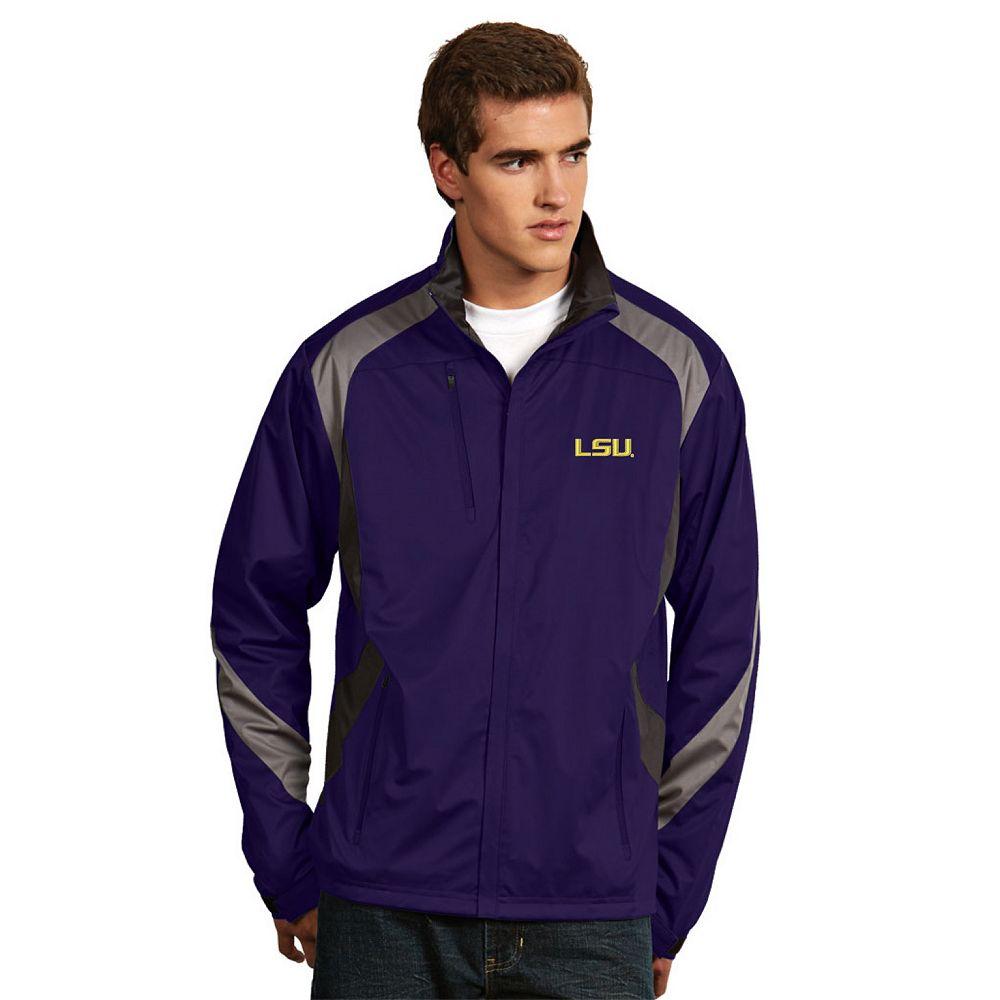 Men's Antigua LSU Tigers Tempest Desert Dry Xtra-Lite Performance Jacket