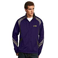 Men's Antigua LSU Tigers Tempest Desert Dry Xtra-Lite Performance Jacket