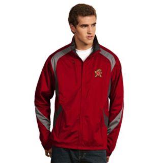Men's Antigua Maryland Terrapins Tempest Desert Dry Xtra-Lite Performance Jacket