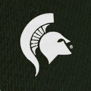 Men's Antigua Michigan State Spartans Tempest Desert Dry Xtra-Lite Performance Jacket
