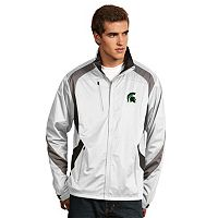Men's Antigua Michigan State Spartans Tempest Desert Dry Xtra-Lite Performance Jacket