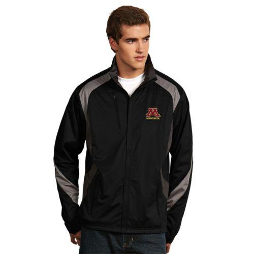 Men's Antigua Minnesota Golden Gophers Tempest Desert Dry Xtra-Lite Performance Jacket