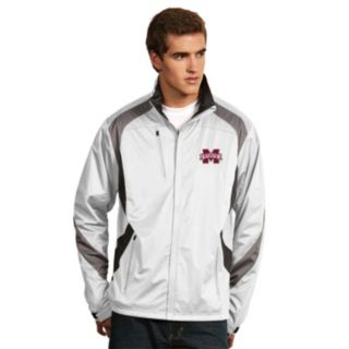 Men's Antigua Mississippi State Bulldogs Tempest Desert Dry Xtra-Lite Performance Jacket