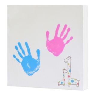 Pearhead Handprint Wall Art Set
